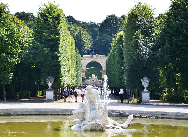 giardino Castello di Schönbrunn Vienna
