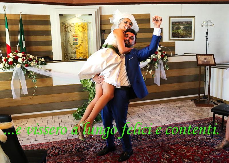sposi felici comune di Solbiate Olona