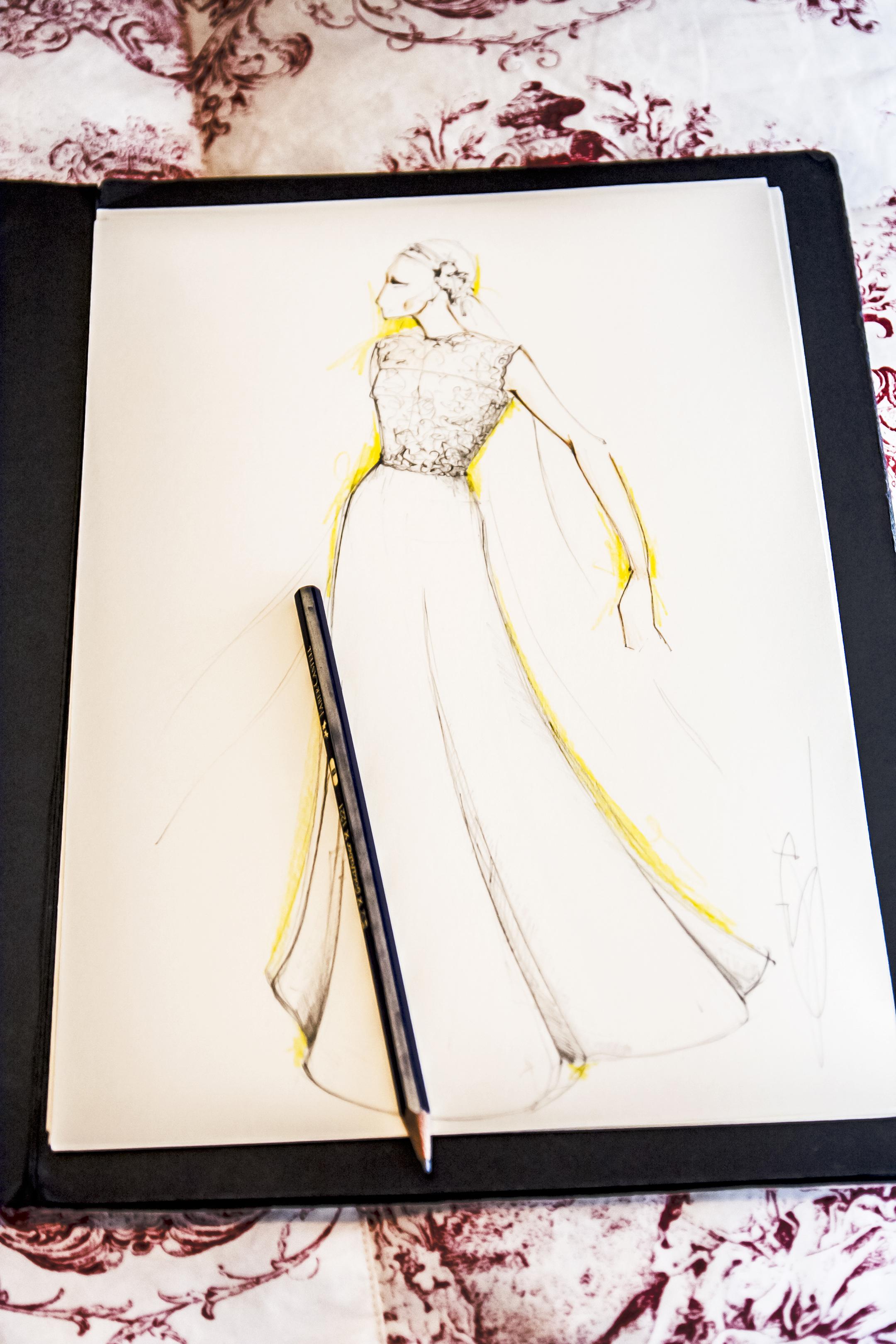 abito da sposa sartoriale in emilia romagna