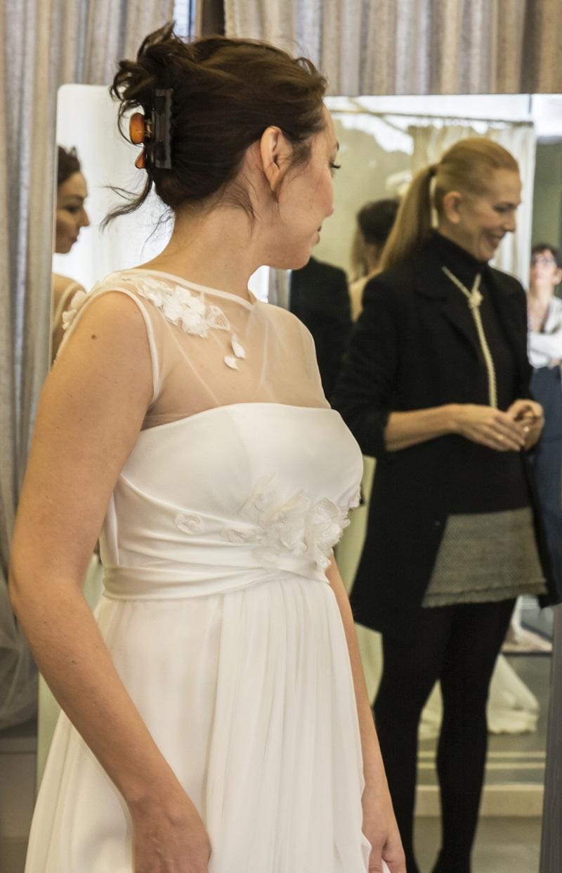 abiti da sposa 2018 modelli stile impero di Califa, Forlì