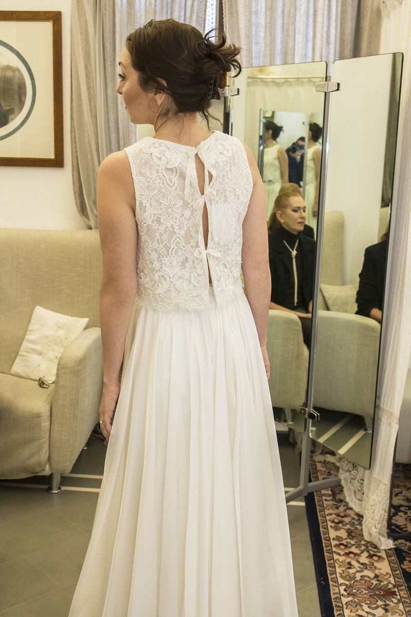 abiti da sposa 2018 modelli due pezzi di Califa, Forlì