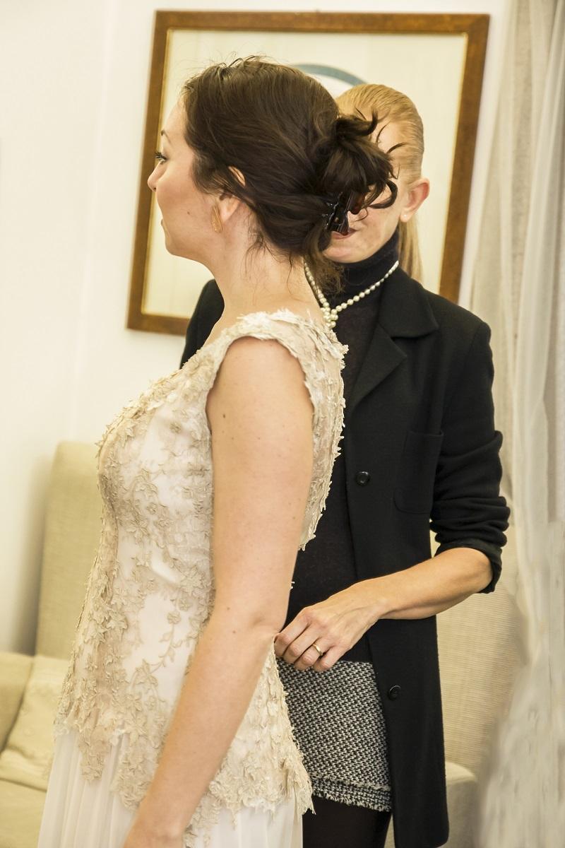 abiti da sposa 2018 modelli scivolati di Califa, Forlì