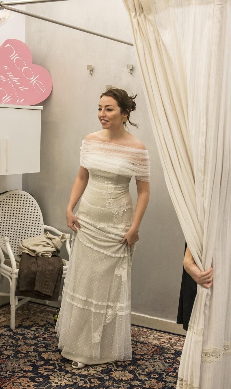 abiti da sposa 2018 modelli a sirena di Califa, Forlì