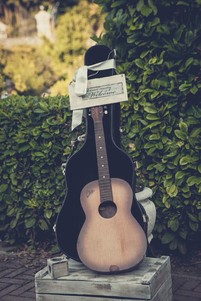 allestimento matrimonio a tema musica