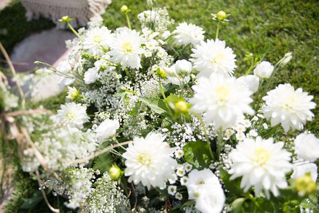 fiori per matrimonio rustico