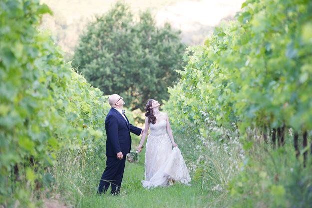 sposi matrimonio rustico a Bologna