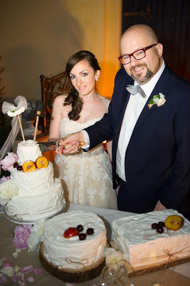 torte nuziali rustiche matrimonio a Bologna
