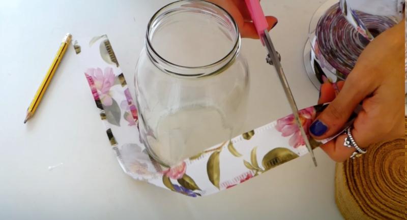 tutorial per decorare vasetti