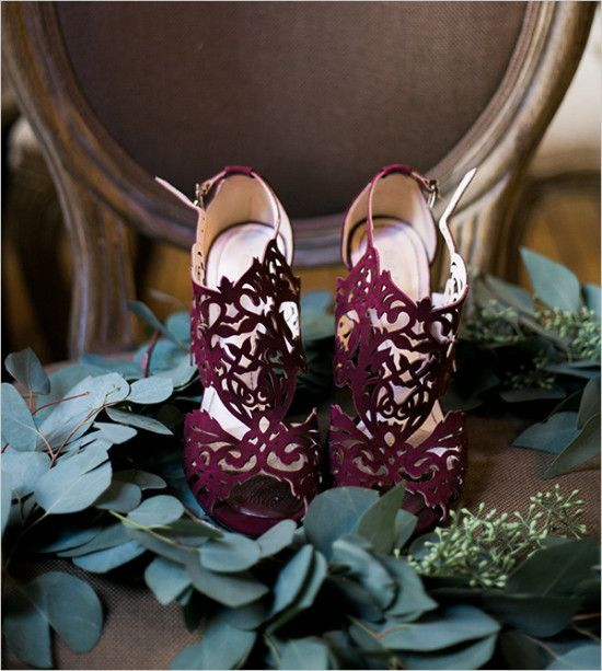 scarpe sposa viola