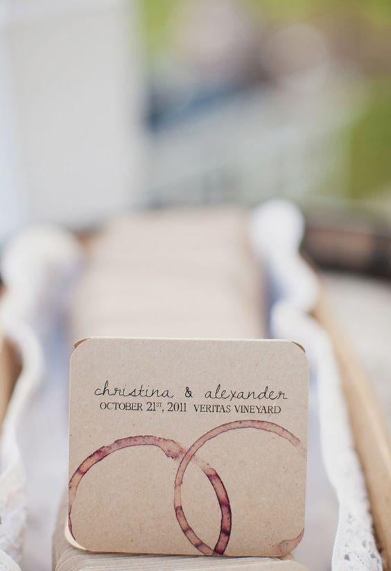partecipazioni matrimonio vino fai da te