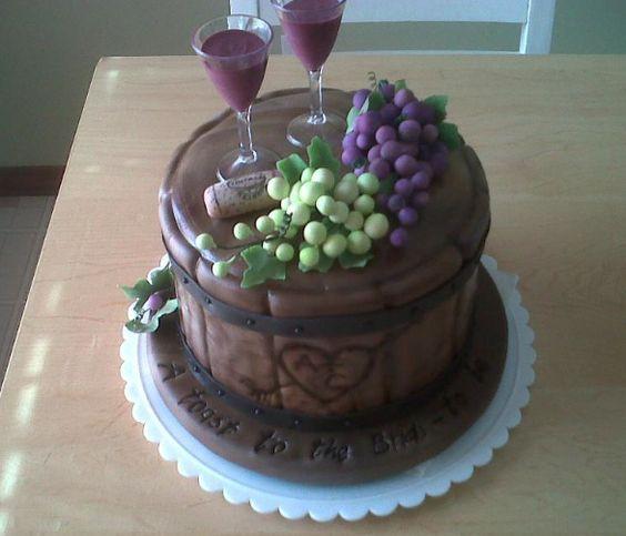 idee matrimonio a tema vino