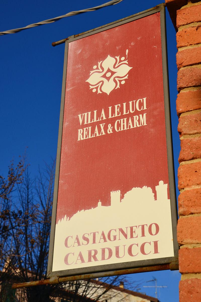 Villa le Luci, a Castagneto Carducci