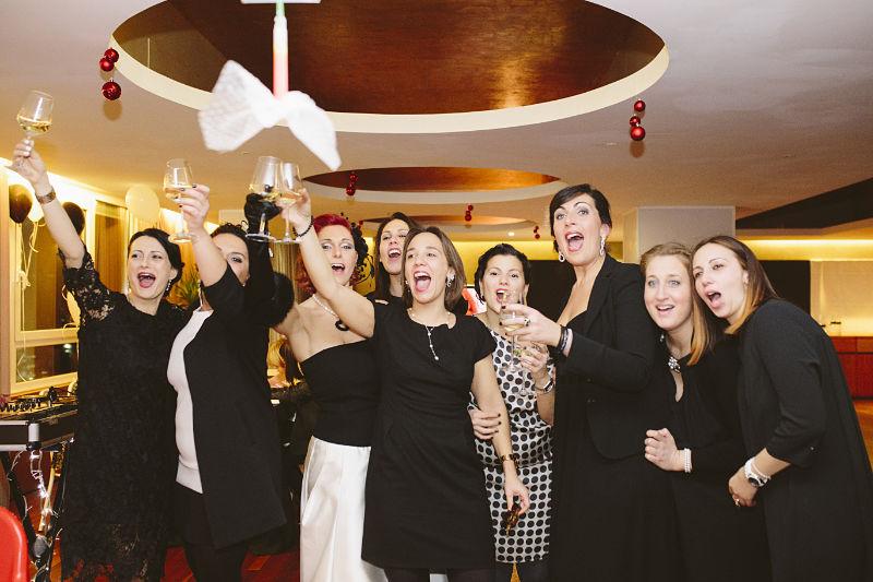 ricevimento di nozze all'hotel City a Senigallia