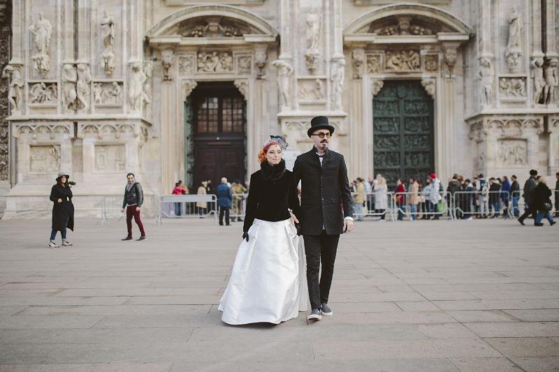 sposi non convenzionali a Milano