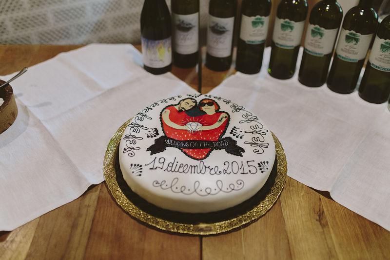 torta di nozze economica