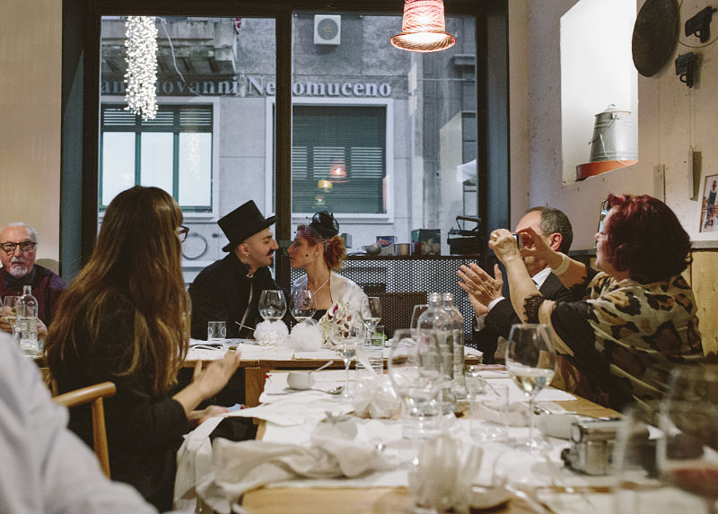 pranzo di nozze al 28 posti milano
