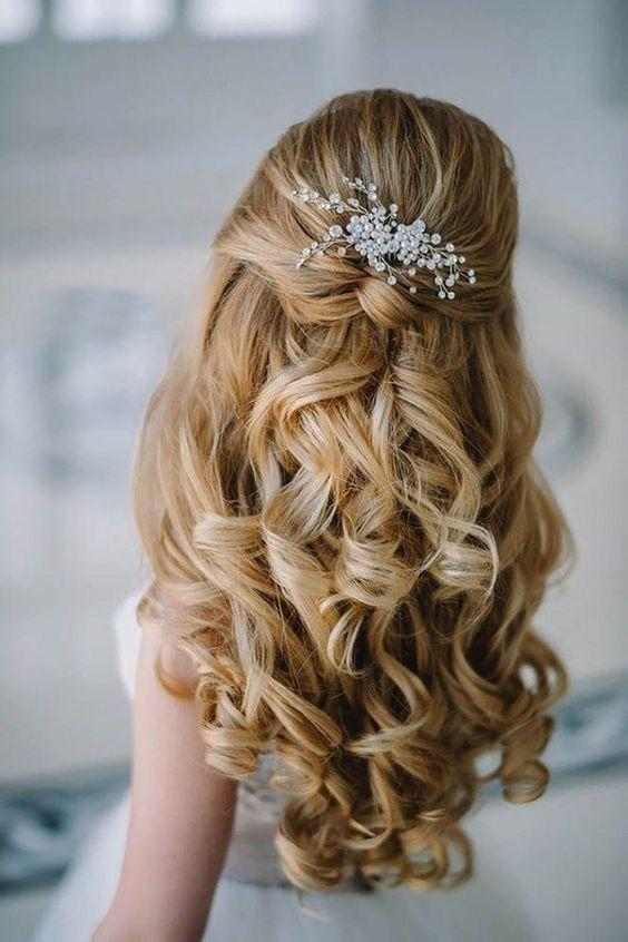 Popolare cappello produzione guerra accessori sposa per capelli sciolti JW57