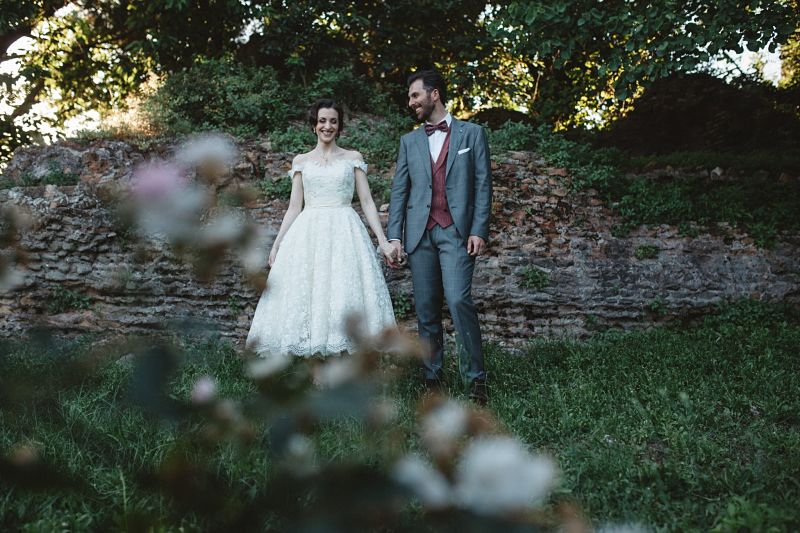 sposi matrimonio intimo bon ton a Roma