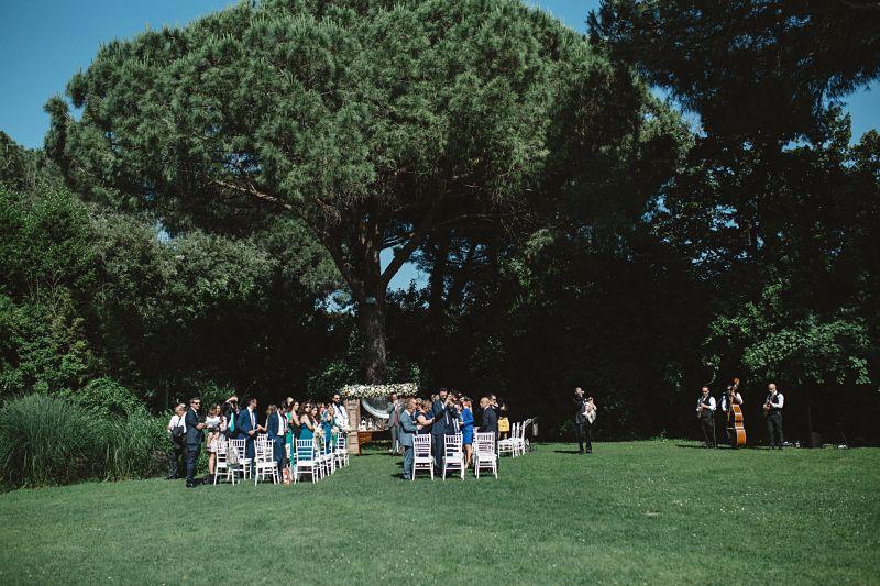 Matrimonio intimo bon ton a Roma