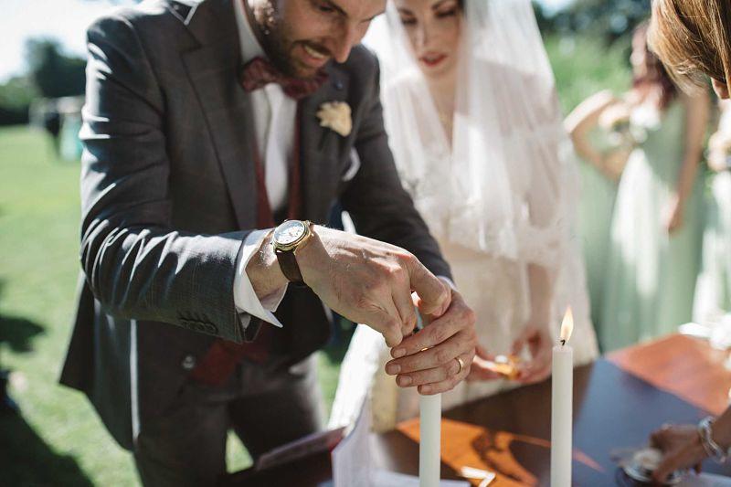 rito della luce cerimonia simbolica matrimonio intimo bon ton a Roma