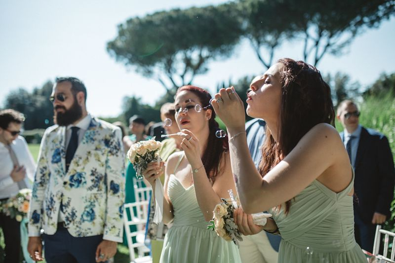 cerimonia simbolica matrimonio intimo bon ton a Roma
