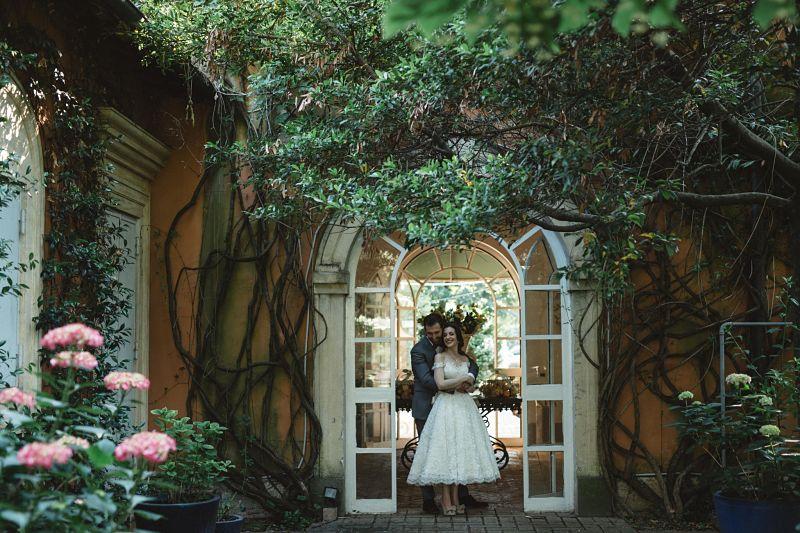 matrimonio in Villa Rosantica,nel parco dell'Appia antica