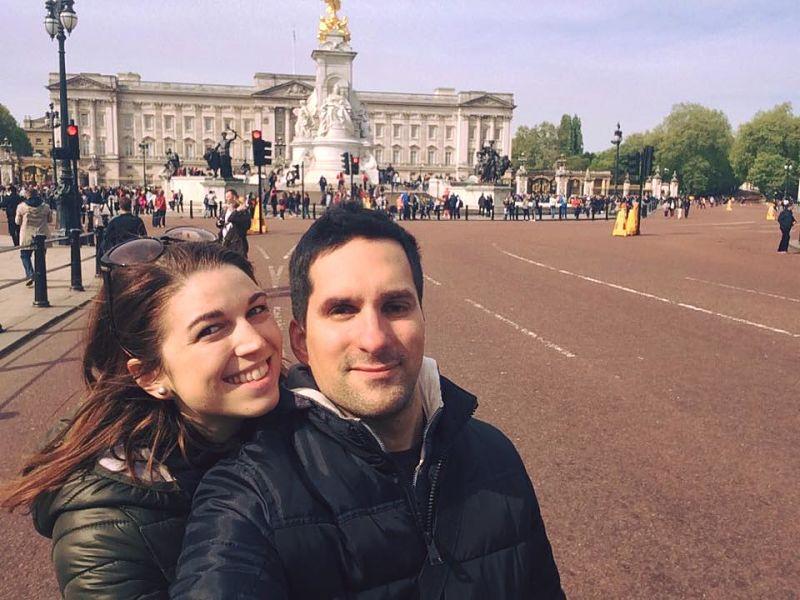 Buckingham Palace, situato nella Città di Westminster a Londra
