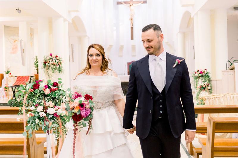matrimonio religioso boho chic