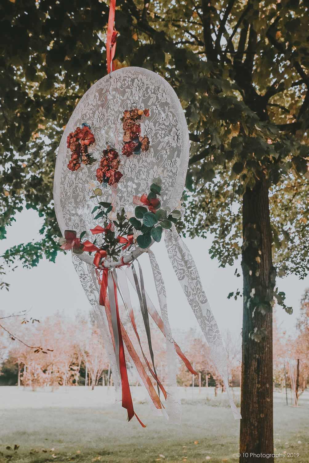 decorazioni matrimonio boho chic autunnale