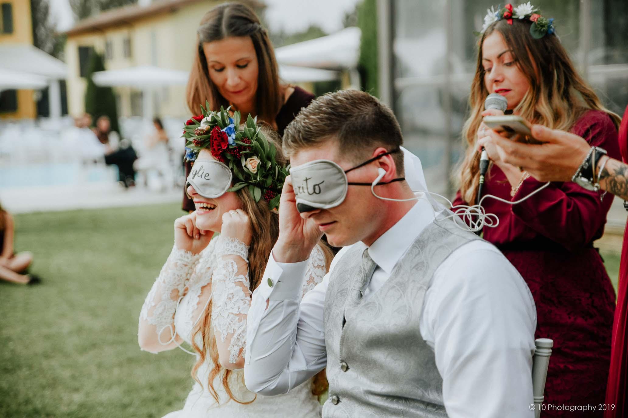 giochi matrimonio boho chic autunnale