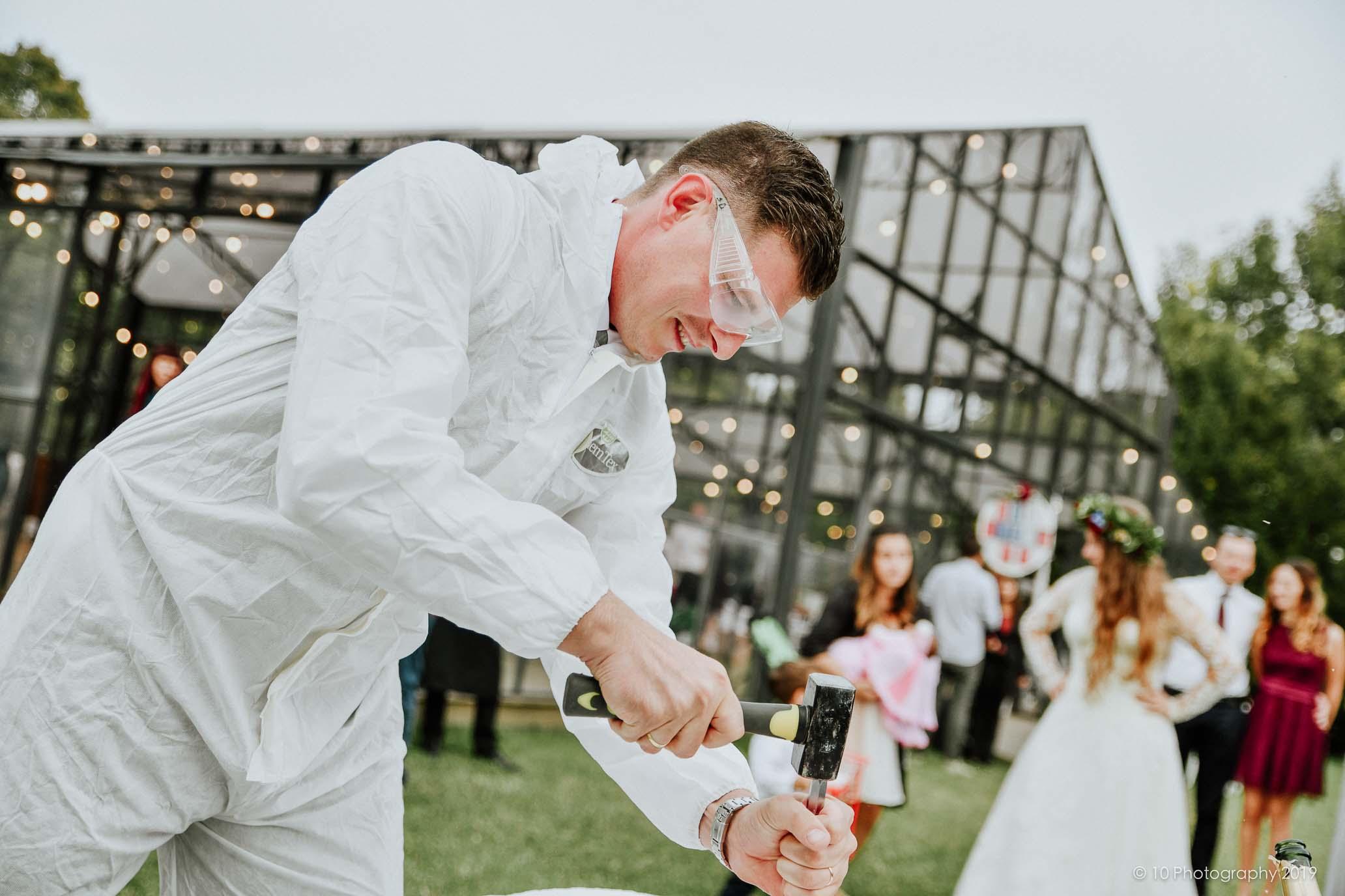 giochi Matrimonio autunnale boho chic a Modena