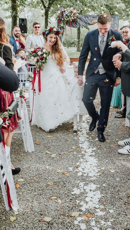 Matrimonio autunnale boho chic a Modena