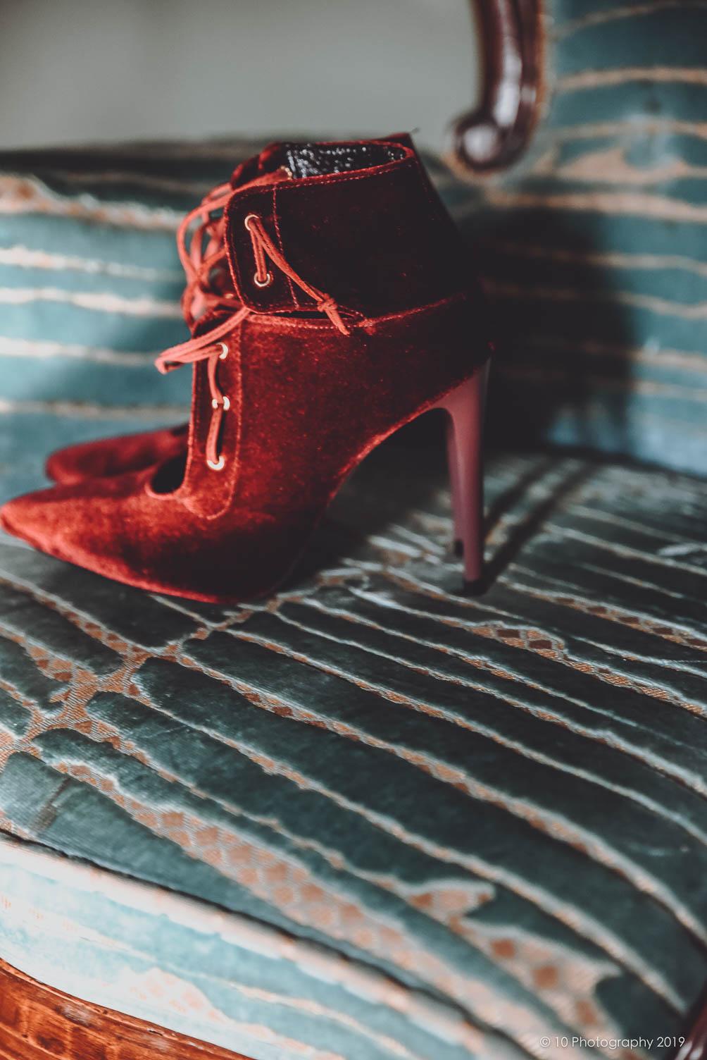 scarpe sposa Matrimonio autunnale boho chic a Modena