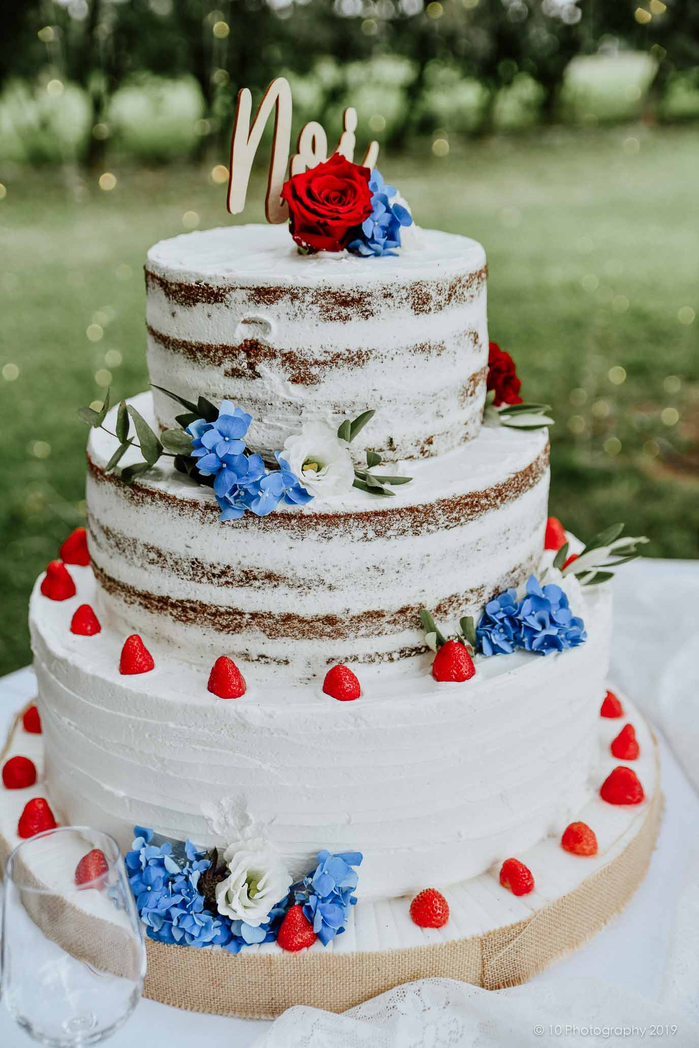 naked cake Matrimonio autunnale boho chic a Modena