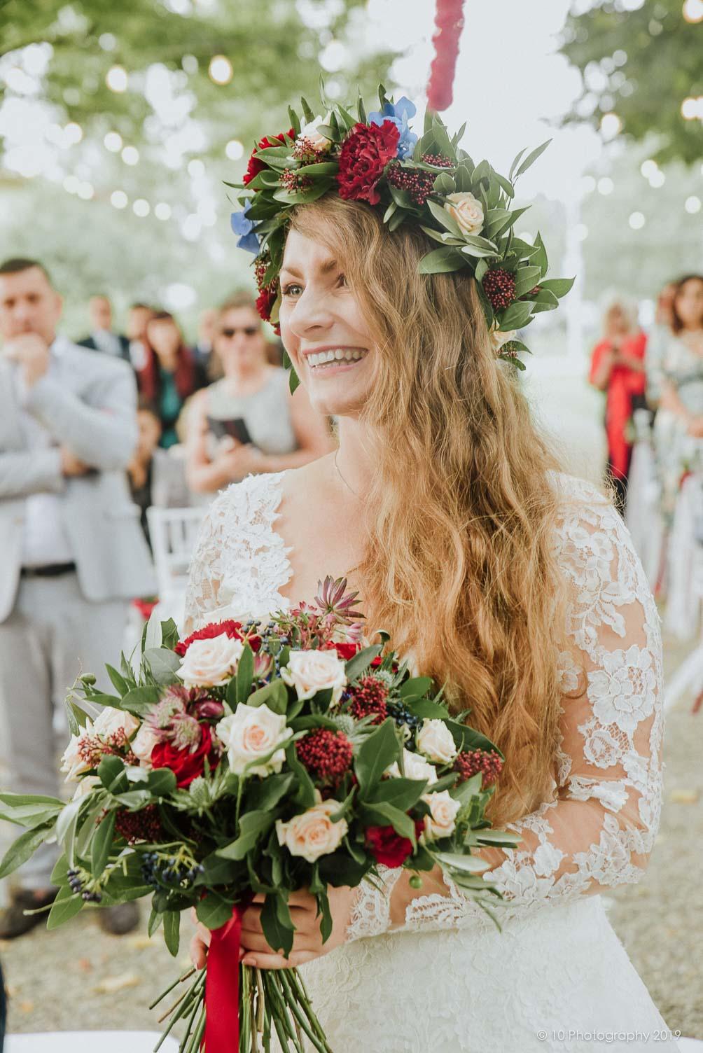 fiori sposa Matrimonio autunnale boho chic a Modena