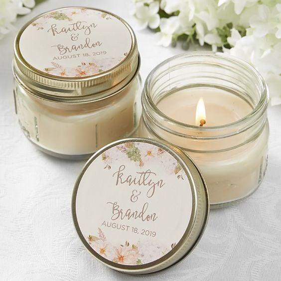 candela bomboniera matrimonio